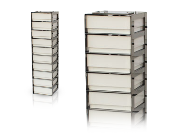 Comfort racks for chest freezers