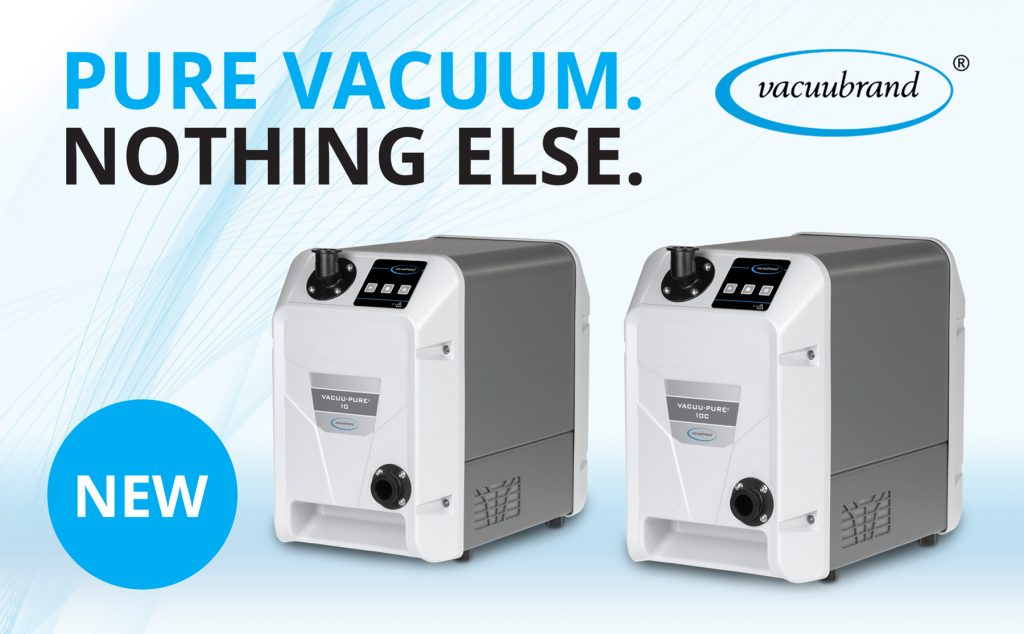 Vacuubrand - Introducing:   VACUU·PURE® 10 and VACUU·PURE® 10C
