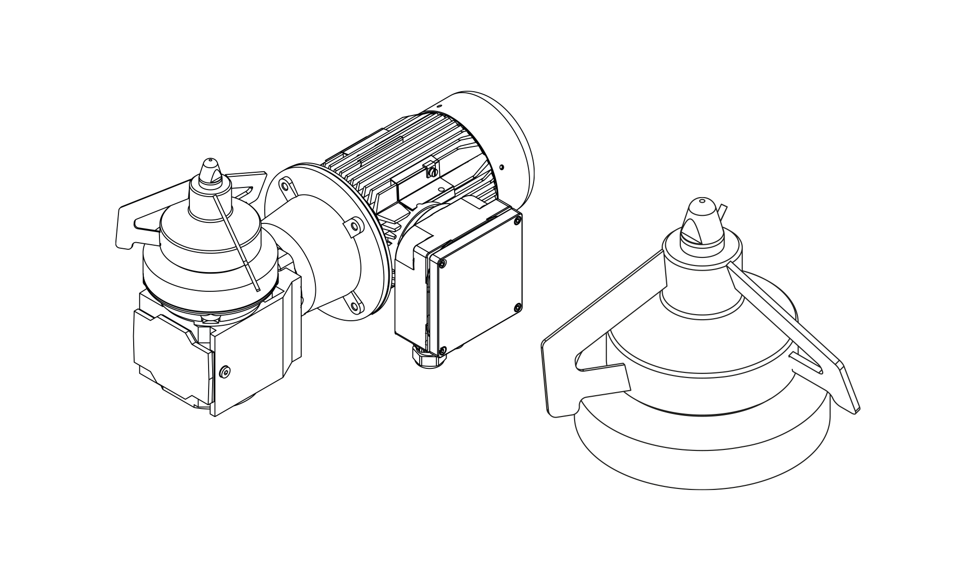 Magnetic drive Stirrer MRW Planetroll