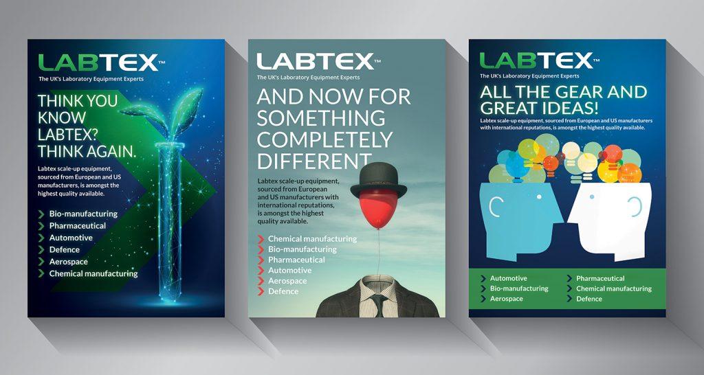Labtex ad campaign